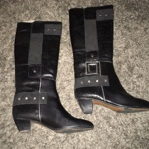 Vintage Pazzo leather boots size 7.5